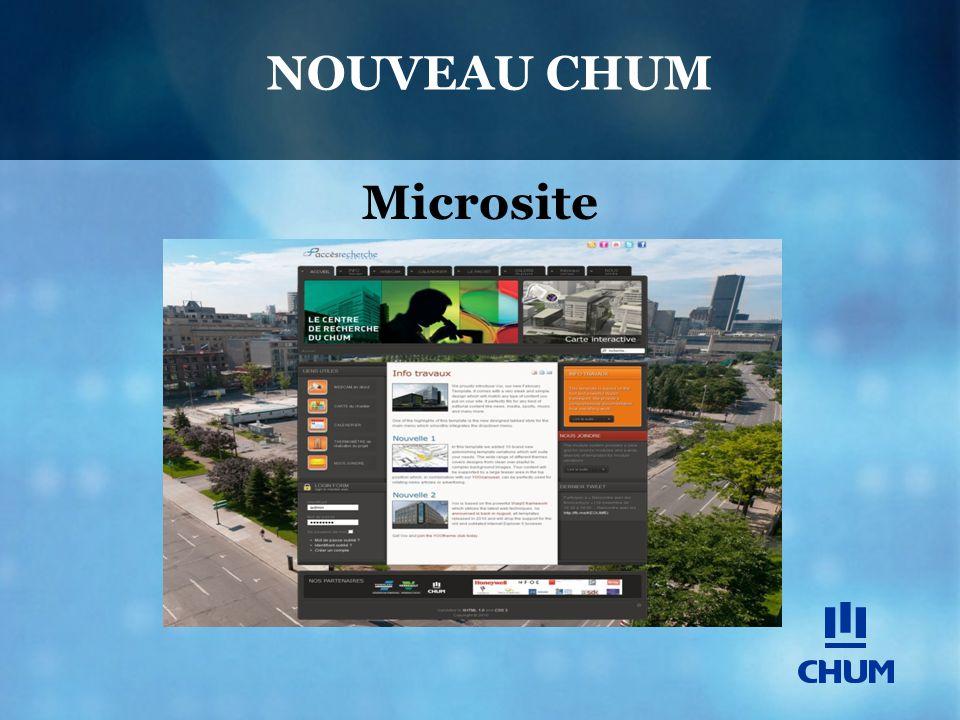 NOUVEAU CHUM Microsite