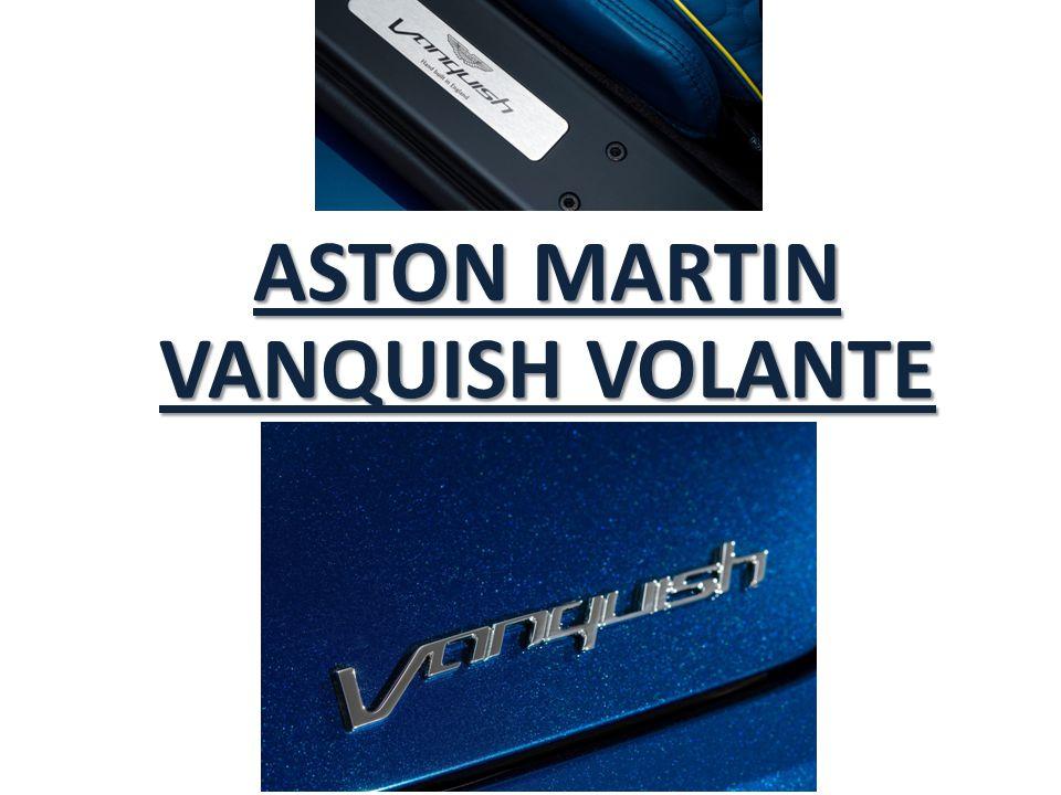 Le prix de cette Aston Martin Vanquish Volante est indiqué à 264.995 euros en Allemagne (soit à peu près pareil en France), 14000 euros de plus que le coupé.