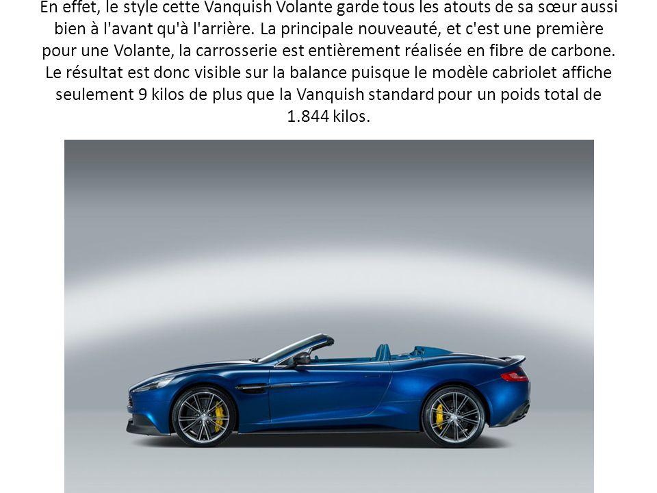 Un peu plus de six mois après la présentation de son nouveau modèle haut de gamme à l occasion du Mondial de l Automobile de Paris, le constructeur britannique dévoile à quelques jours de l été la déclinaison cabriolet de sa nouvelle Vanquish.