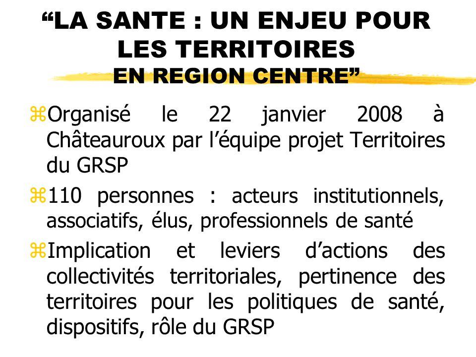 PROMOTION DE LA SANTE CHEZ LES SENIORS zOrganisé le 22 octobre 2008 en Indre et Loire par le CDES 37 et le Groupement départemental de promotion de la santé z8ème journée de promotion de la santé zEnviron 300 personnes prévues