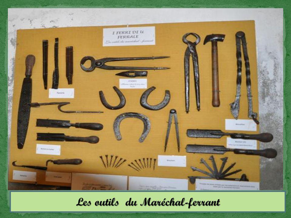 Les outils du Maréchal-ferrant
