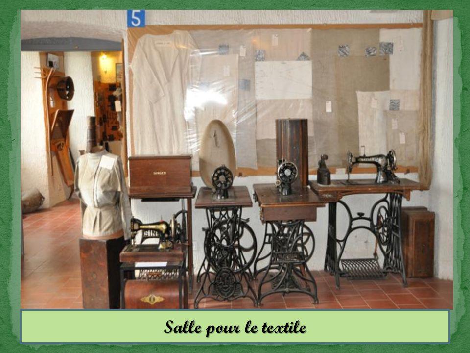 Salle pour le textile