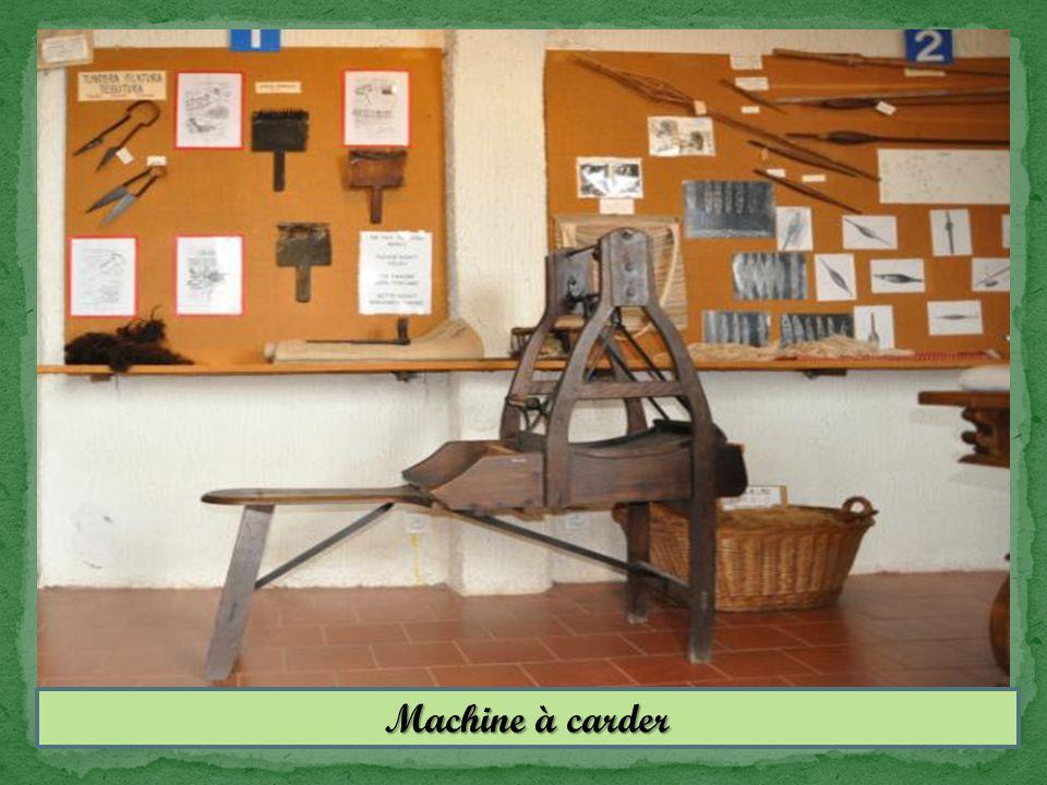 Machine à carder