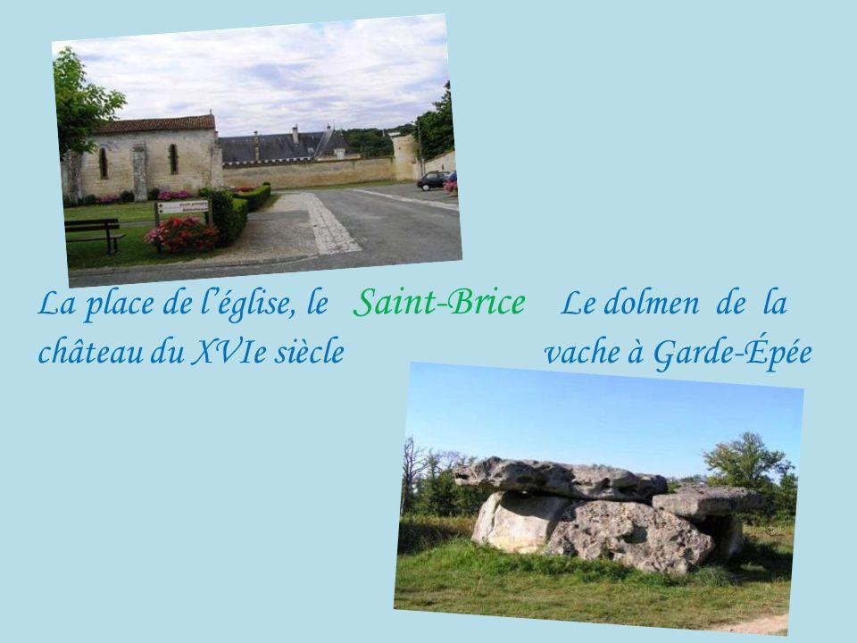 Louzac-St-André fontaine de Font Joyeuse