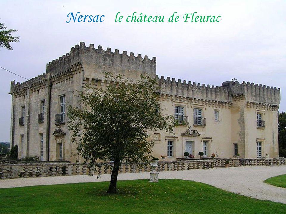 Château-Neuf-sur-Charente L'hôtel de ville