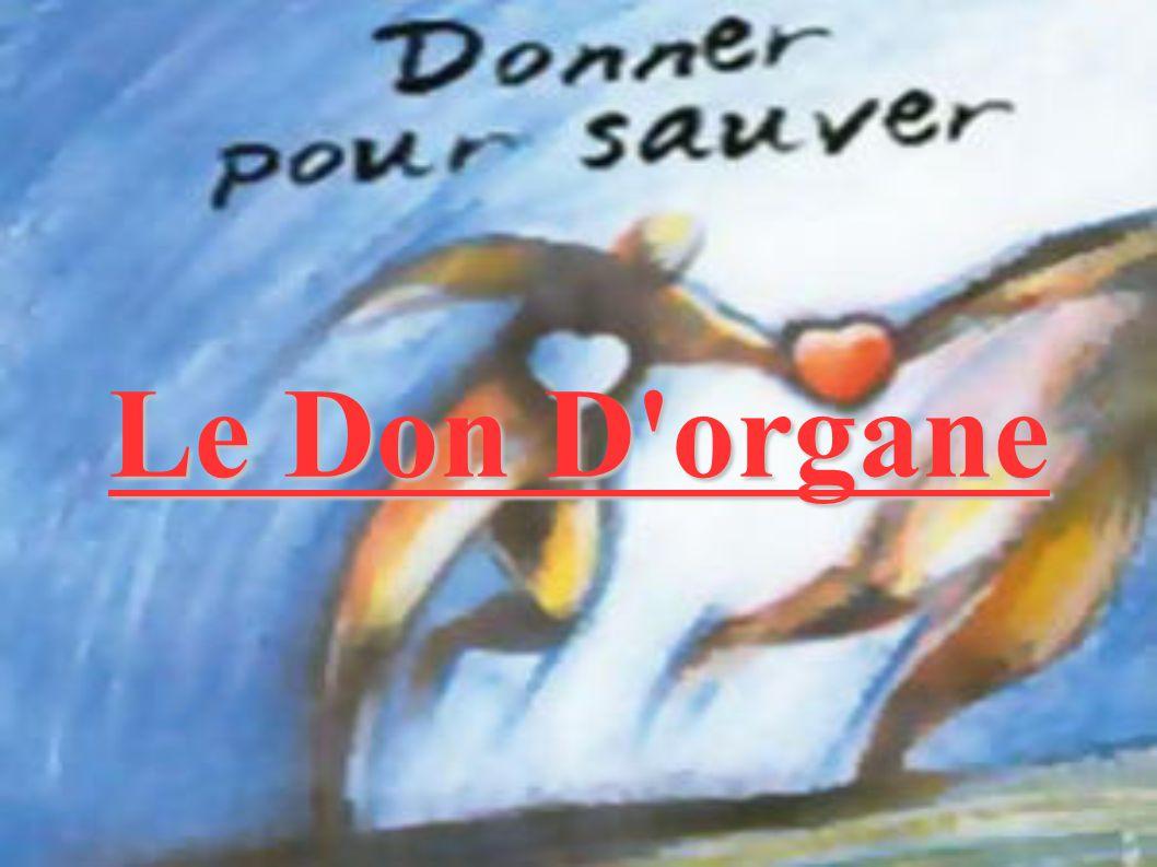 Le Don D'organe
