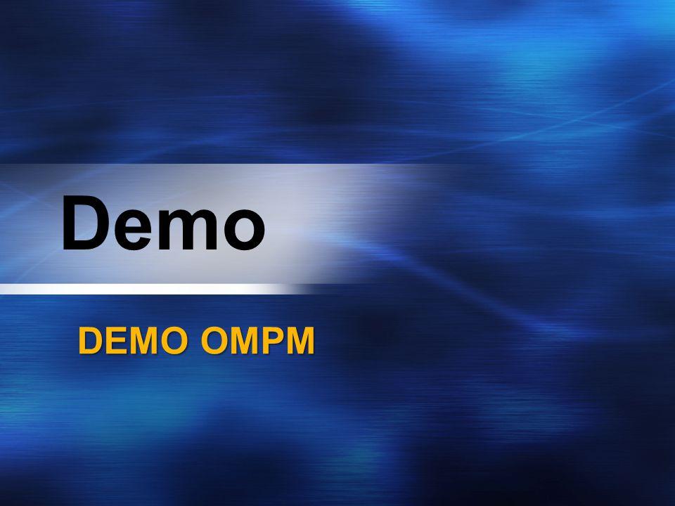 Demo DEMO OMPM
