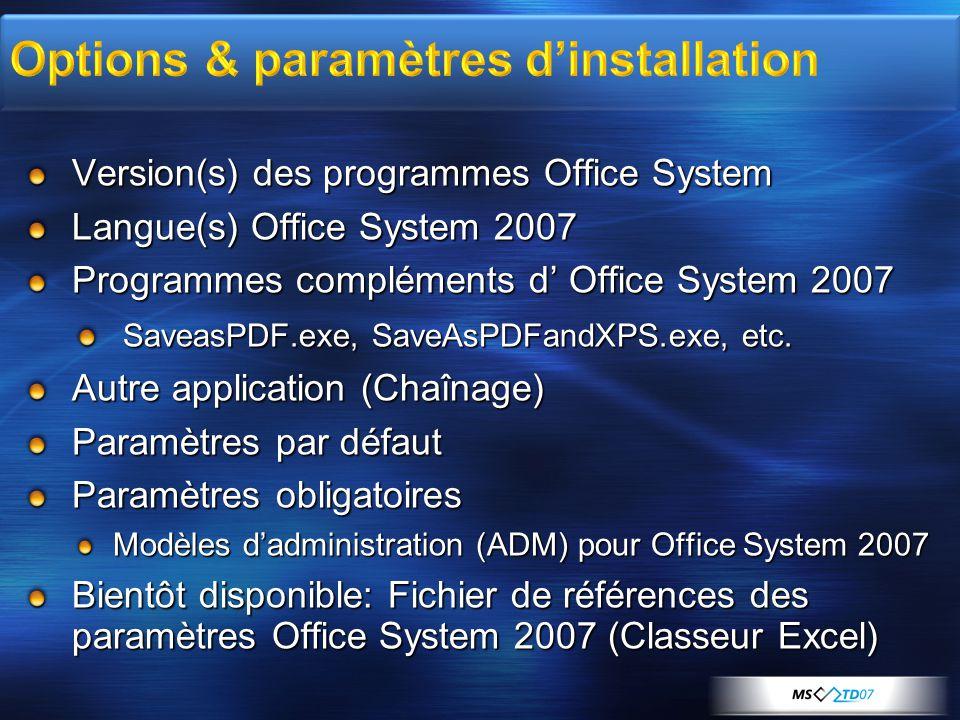 Demo DEMO Office System 2007 Setup