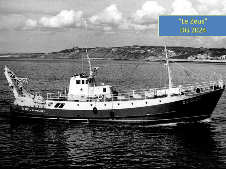 « Le Zeus » le 24 Juin1965 lors de ses essais à St Malo.