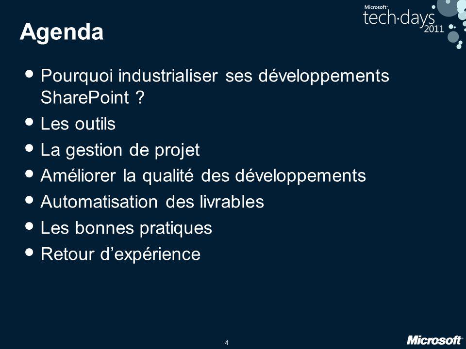 5 Pourquoi industrialiser .