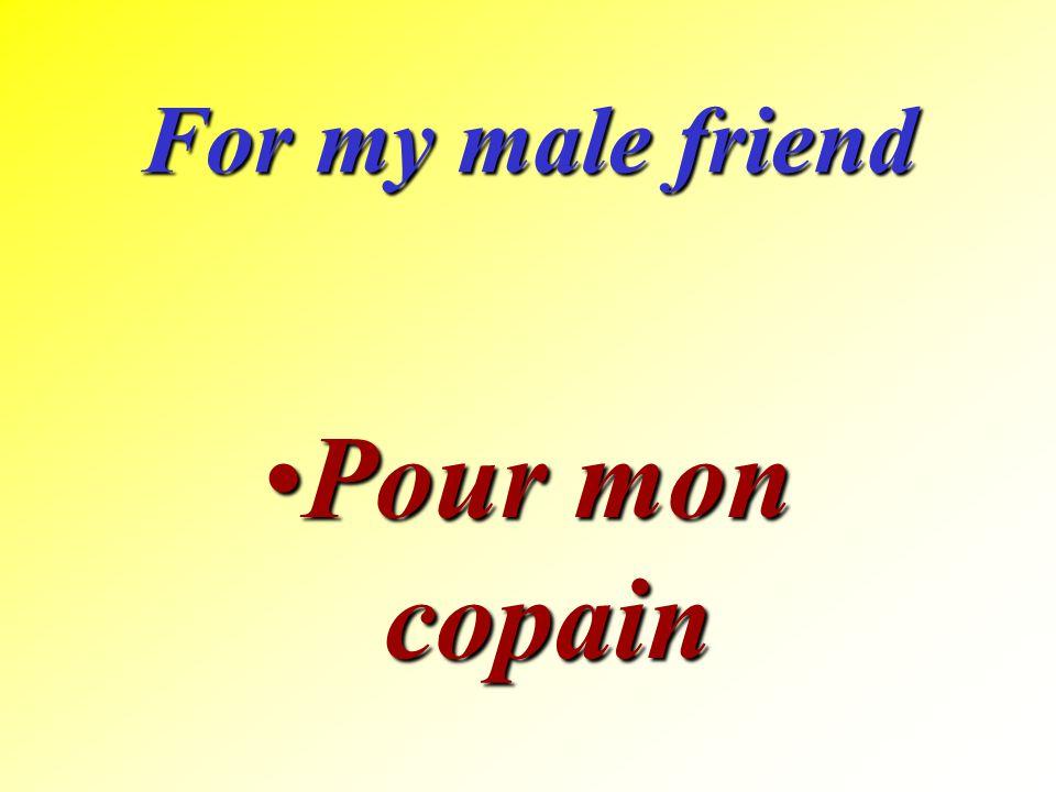 For my grandfather Pour mon grand-pèrePour mon grand-père