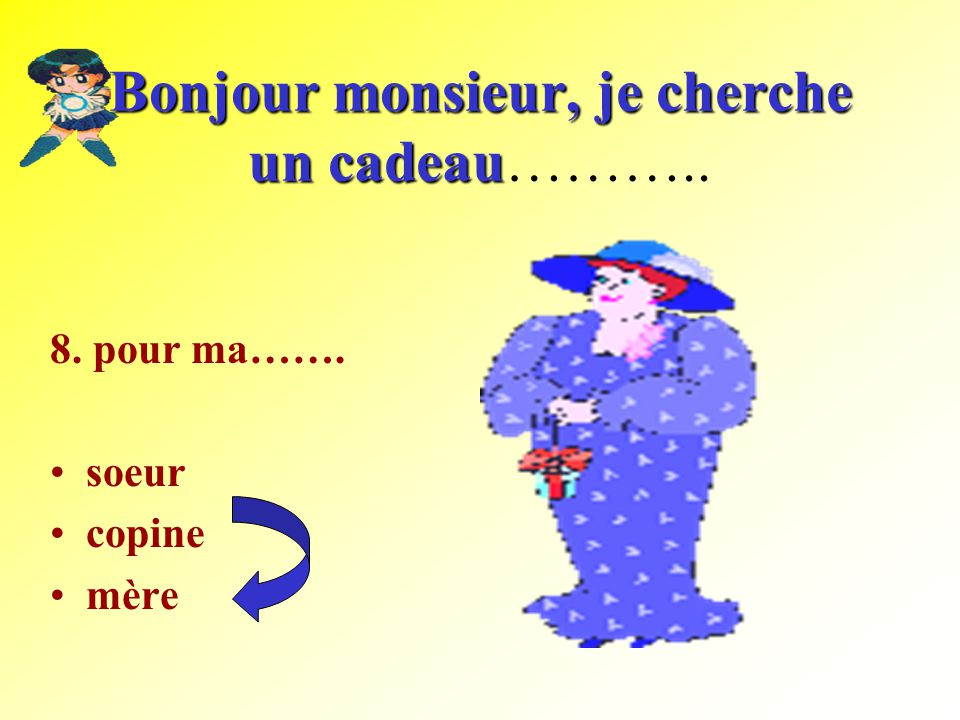 For my male friend Pour mon copainPour mon copain