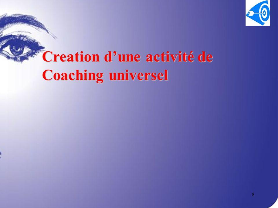 8 Creation d'une activité de Coaching universel