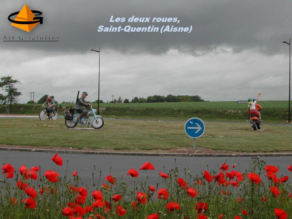 Le tonneau, Archiac (Charente-Maritime)