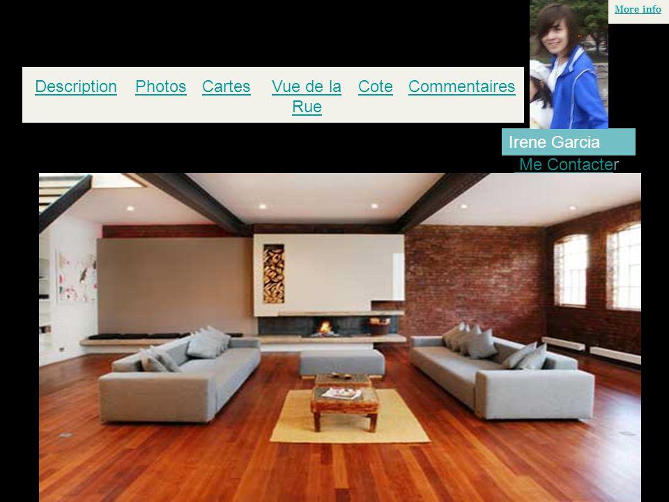 PhotosCartesVue de la Rue Cote More info DescriptionCommentaires Me Contacte Me Contacter Irene Garcia