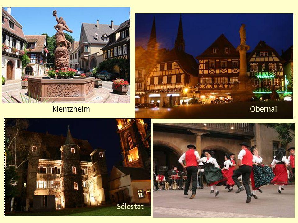 L'Alsace s'Elsass La plus petite Région administrative française (avec la Corse) 8.280 km2 (190km x 50km) 1.817.000 habitants densité 219,4hab./km2