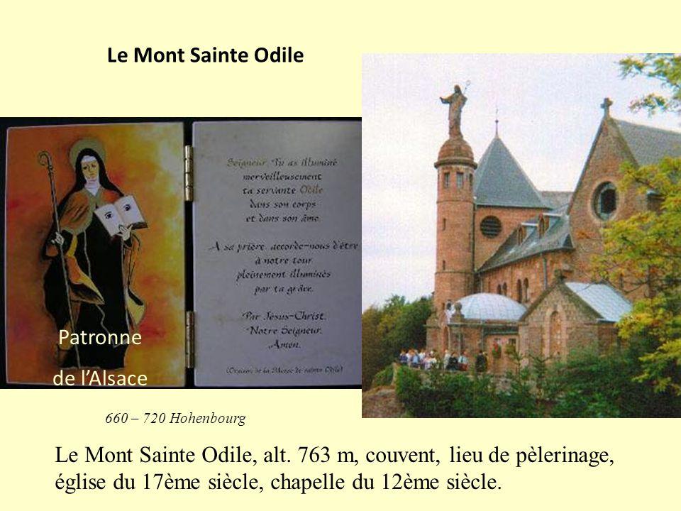 Le Mont Sainte Odile, alt.