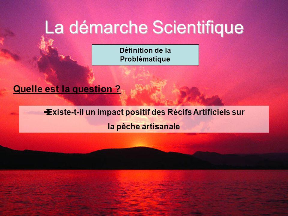 La démarche Scientifique Définition de la Problématique Quelle est la question .