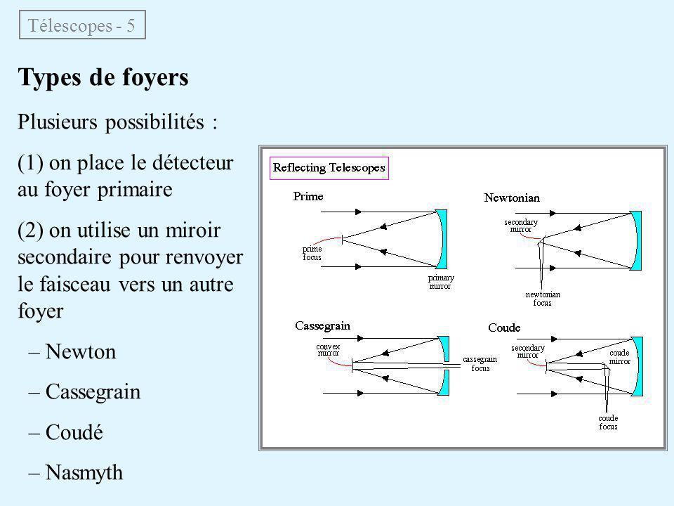 Réduction d'image = transformation d'une image brute en une image scientifiquement utilisable (image réduite) soustraction du biais (mesuré sur images de temps de pose nul) correction des non-uniformités interpixels (division par une pose sur un fond uniforme : flat field) repérage des impacts de rayons cosmiques + correction à des fins esthétiques (scientifiquement, l'information est perdue dans ces pixels → σ = ∞) soustraction du fond de ciel calcul de l'image des σ Images astronomiques - 4