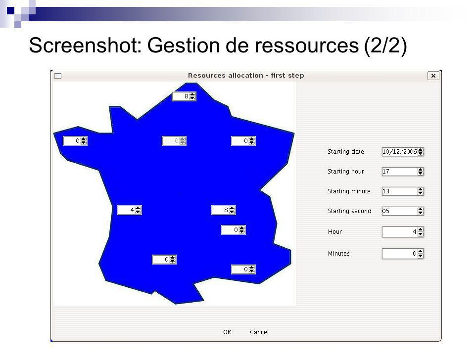 Screenshot: Construction de l application DIET