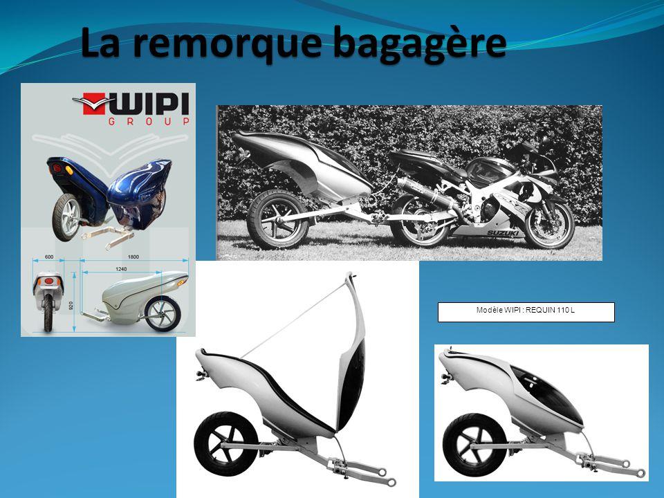 Modèle WIPI : REQUIN 110 L La remorque bagagère