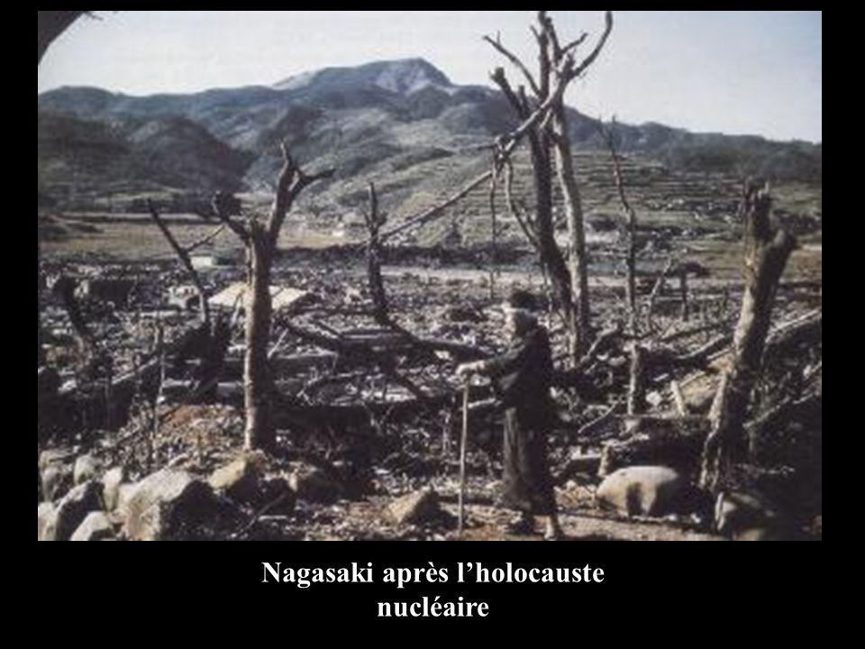Nagasaki après l'holocauste nucléaire