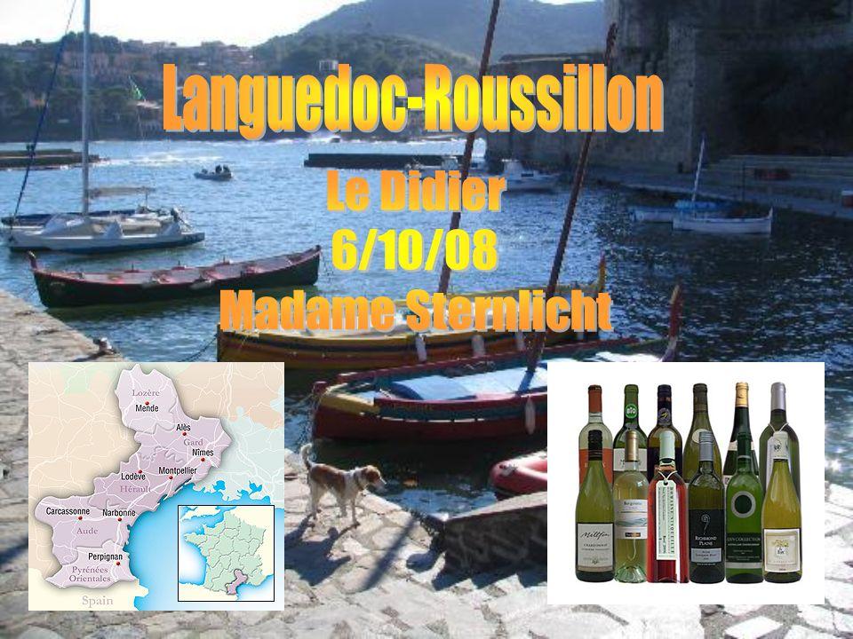 Il y a cinq départements dans la région de Languedoc-Roussillon: Lozere (48), Gard (38), Herault (34), Aude (11), et les Pyrénées-Orientales (66).