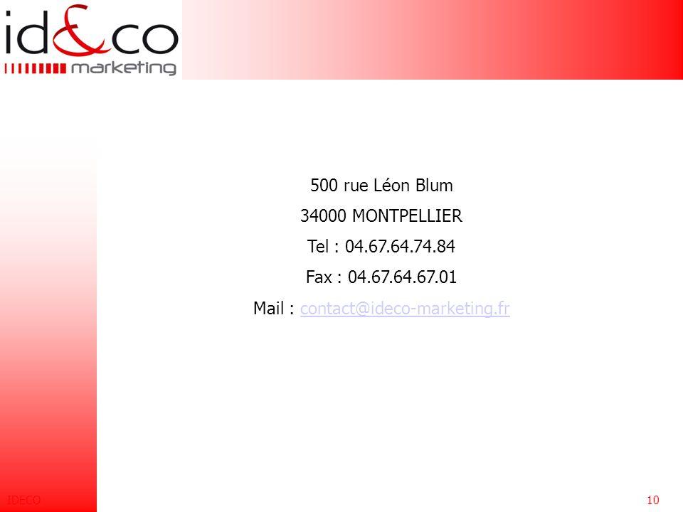 IDECO9FormationSpécificité Établissement de plans de formation intra-entreprise. L 'objectif est de travailler sur des problématiques spécifiques, en