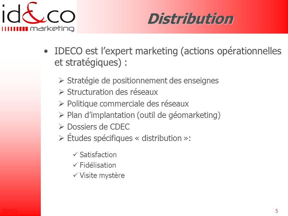 IDECO4 Études et recherche Marketing Secteurs d 'activité Secteurs d 'activité Ils sont abordés par l'intermédiaire des techniques et outils : Collect
