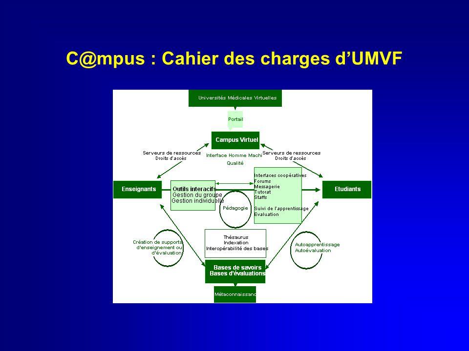 C@mpus : Cahier des charges d'UMVF