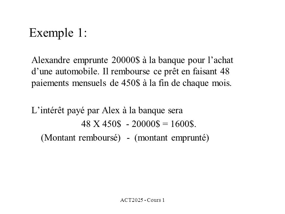 ACT2025 - Cours 1 Exemple 6: