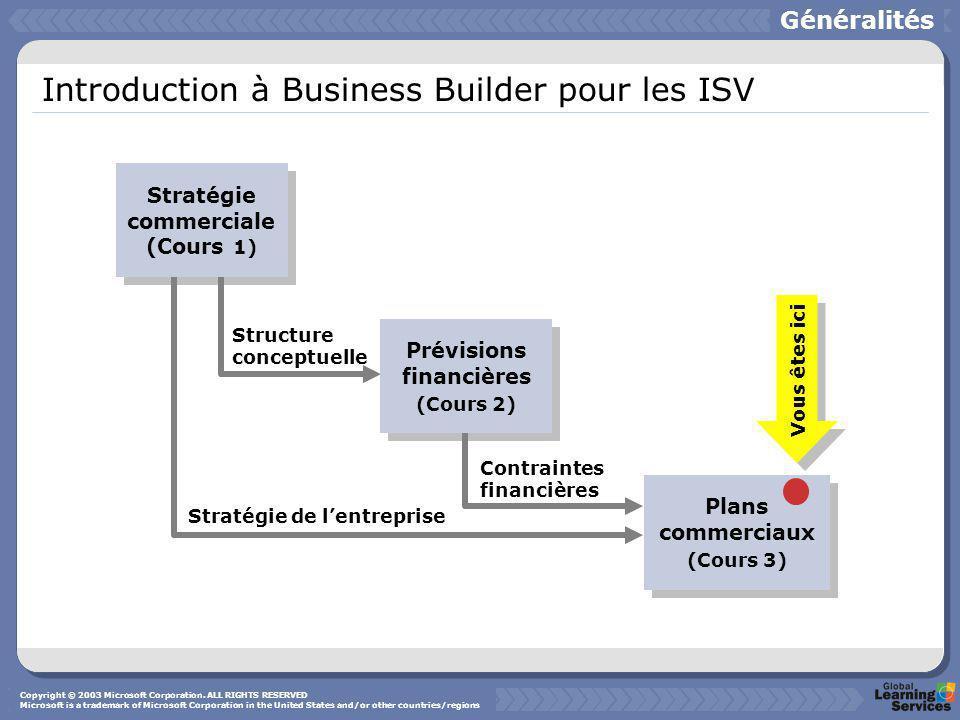 Objectif du plan commercial Le plan commercial vous donne l'occasion de clarifier et de mettre en oeuvre votre approche stratégique dans chaque secteur critique de votre entreprise.
