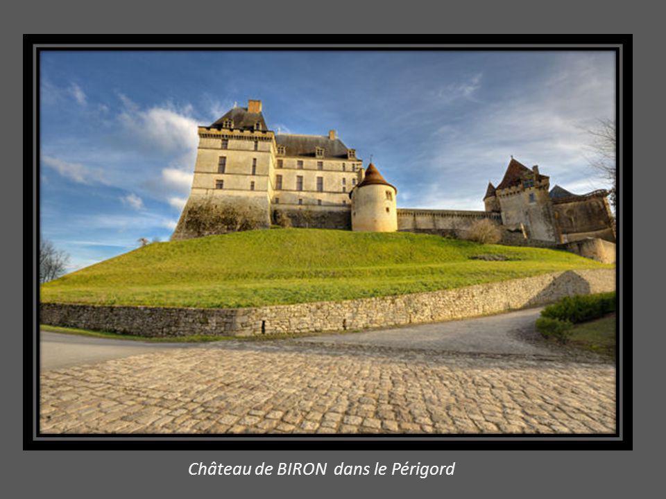 ANGERS : façade Sud de la demeure des Ducs d' Anjou