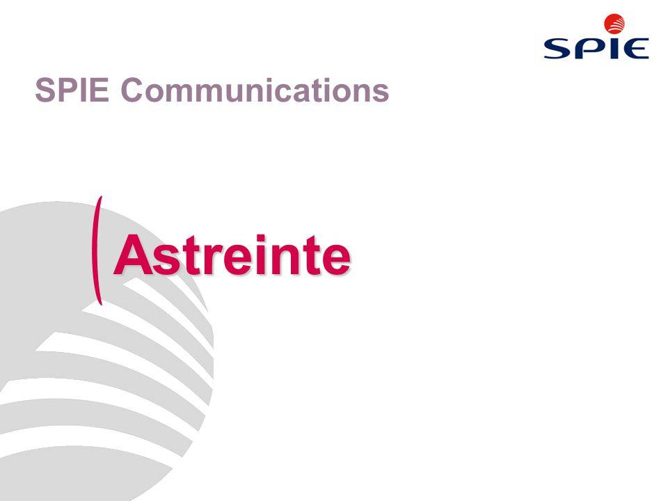 Astreinte SPIE Communications