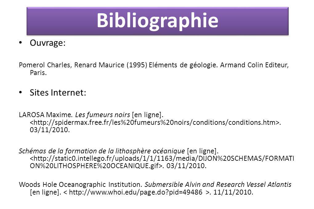 Ouvrage: Pomerol Charles, Renard Maurice (1995) Eléments de géologie.
