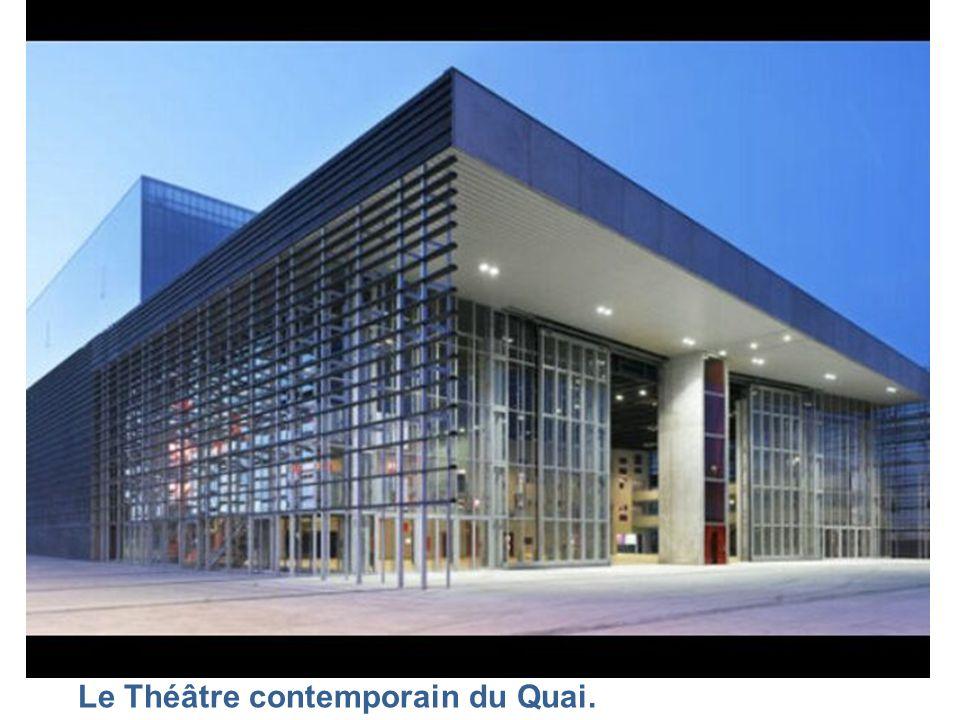 Le splendide théâtre d'Angers