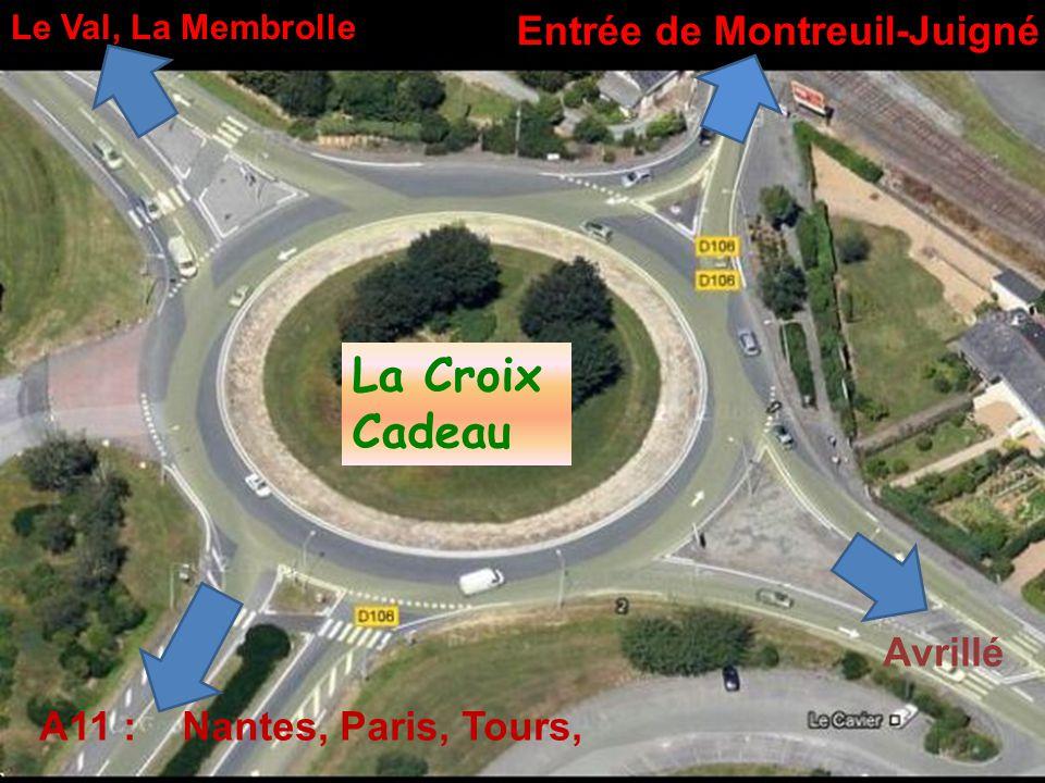 Angers Montreuil-Juigné Vers Nantes Vers Paris Vers Tours