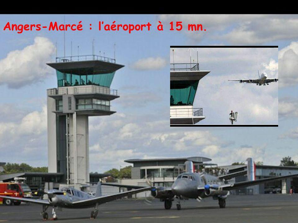 Le Tram aux portes de Montreuil et à 18 mn d'Angers … et à 18 mn avec le Tram