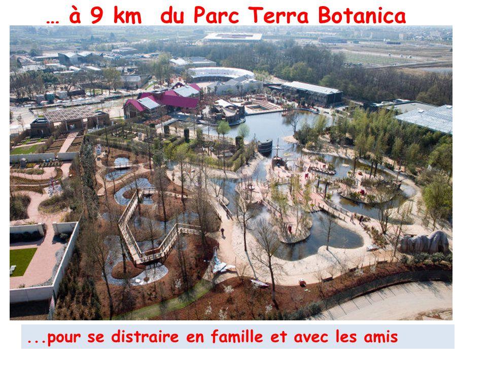 Angers-Marcé : l'aéroport à 15 mn.