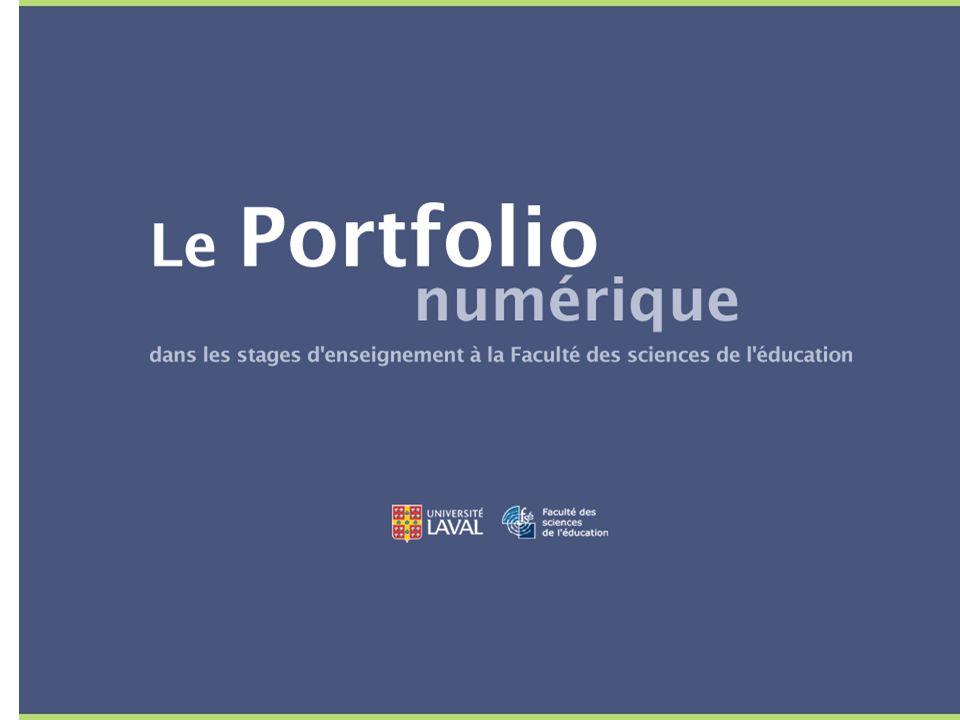 Le portfolio professionnel : un choix d'outil de réflexion sur la pratique Quel est l'origine de ce choix dans les stages.