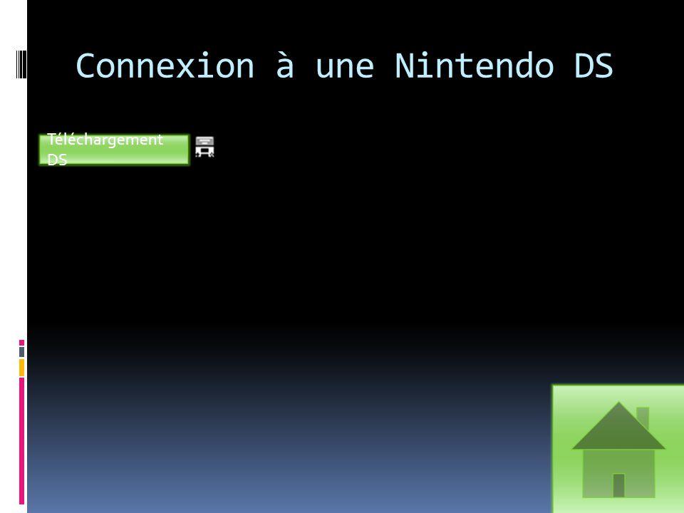 Connexion à une Nintendo DS Téléchargement DS