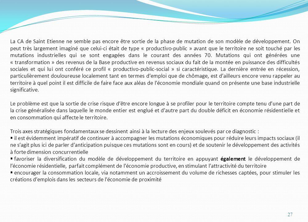 La CA de Saint Etienne ne semble pas encore être sortie de la phase de mutation de son modèle de développement.