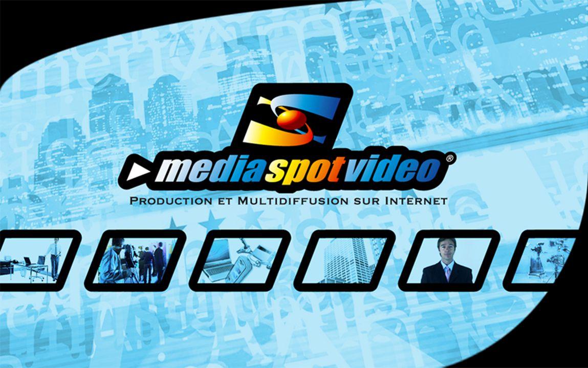 PRÉSENTATION  MediaSpotVideo est une équipe de professionnels de la communication, de l'audiovisuel, et du marketing sur Internet, qui conçoit, réalise et diffuse vos spots vidéo sur internet.