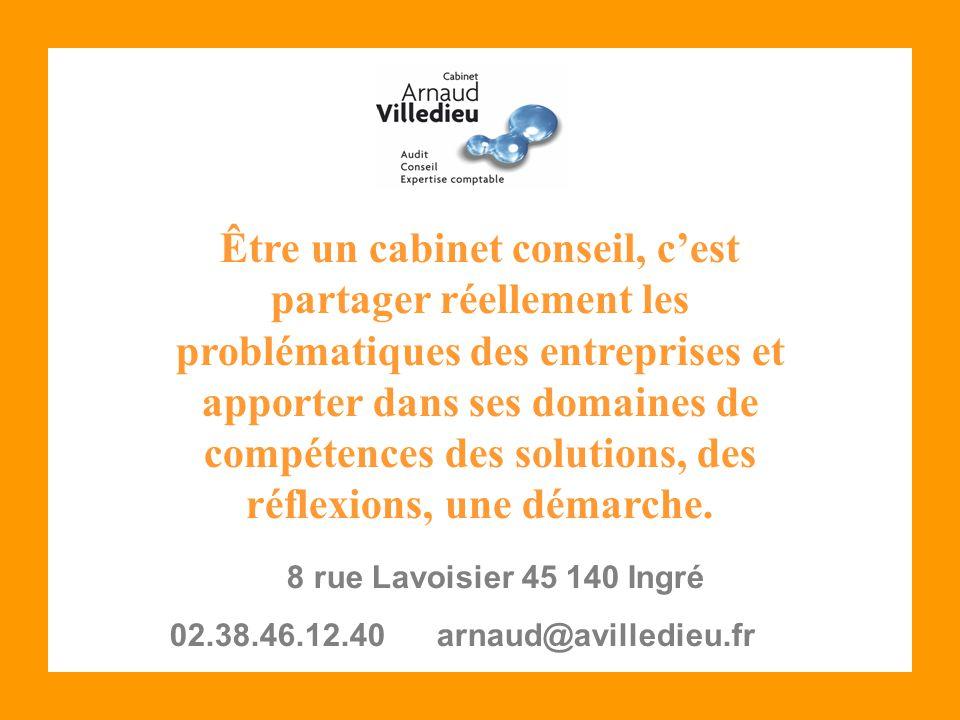 Être un cabinet conseil, c'est partager réellement les problématiques des entreprises et apporter dans ses domaines de compétences des solutions, des réflexions, une démarche.