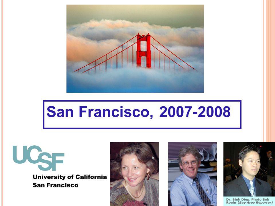 San Francisco, 2007-2008