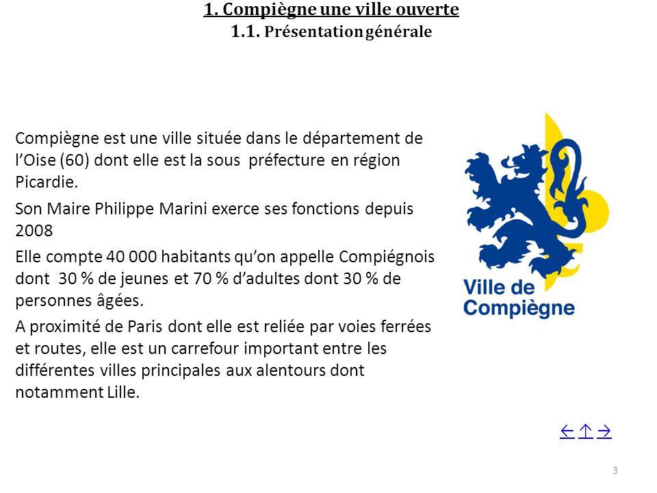 1.Compiègne une ville ouverte 1.1.