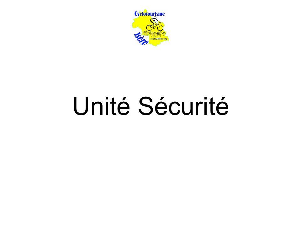 Unité Sécurité