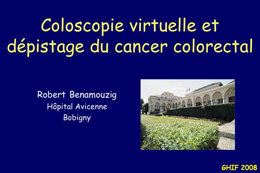 GHIF 2008 Insufflation colique Une distension colique adéquate est indispensable –Air vs.