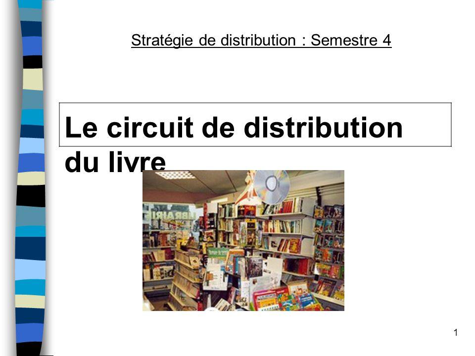 1 Le circuit de distribution du livre Stratégie de distribution : Semestre 4