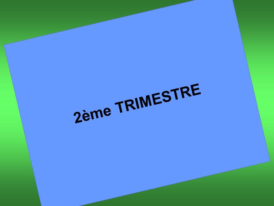 2ème TRIMESTRE